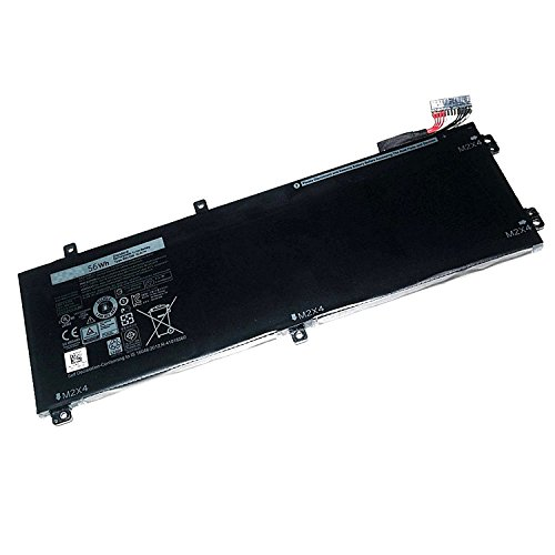 Huidirect New RRCGW 11.4V 56WH Replacement Laptop Battery For Dell XPS 15 9550 Precision 5510 56WHR - 4GVGH 0M7R96 M7R96 (New Battery 56whr)