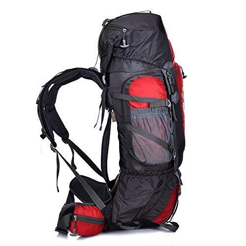 Zehaer Climb Backpack Hot Outdoor Backpack 80L Men and Women Cycling Sports Camping Bag Waterproof Hiking Backpack Sports Bag Bracket Shoulder Backpack