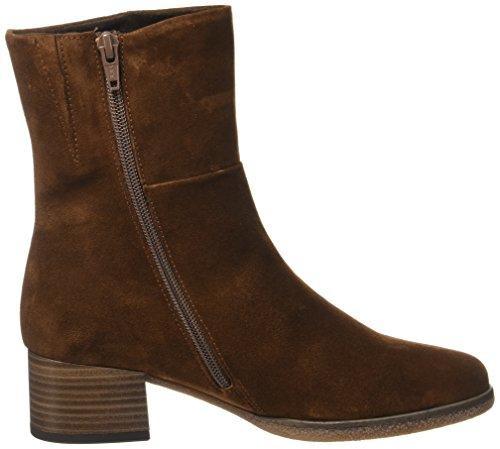 Gabor Women's Comfort Sport Boots, Black Brown (Whisky Micro 41)