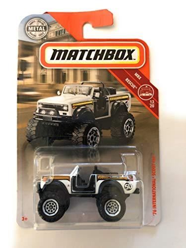 Matchbox 76 International Scout 4x4 White 52/100 MBX Rescue 13/20