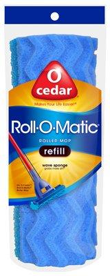 (O-Cedar  Roll-O-Matic  8-1/2 in. Mop Refill-Mfg# 135859 - Sold As 6)