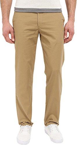 Dockers Men's Easy Khaki D1 Slim-Fit Flat-Front Pant, New British Khaki, 34W x 32L by Dockers