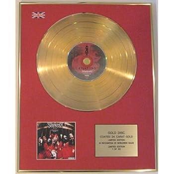 TAKE THAT Ltd Edt 24 Carat CD Gold Disc THE CIRCUS