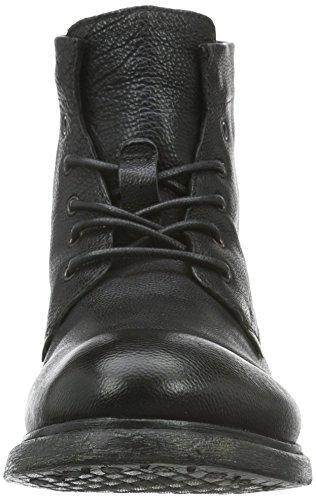 Mjus 320224-0101-6002, Zapatillas de Estar por Casa para Hombre Negro - negro