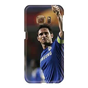 High Quality Hard Phone Case For Samsung Galaxy S6 (UnU14227sMvO) Allow Personal Design Vivid The Halfback Of Chelsea Frank Lampard Series