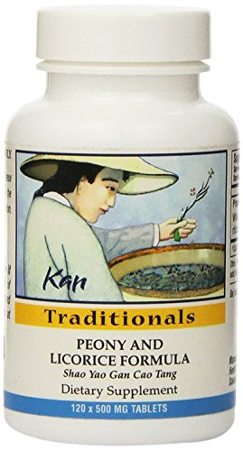 Kan Herbs - Traditionals- Peony and Licorice Formula 120 tabs