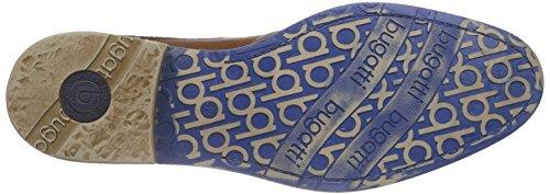 Bugatti 311145013000 - Zapatos de cordones derby Hombre Marrón - Braun (cognac 6300)