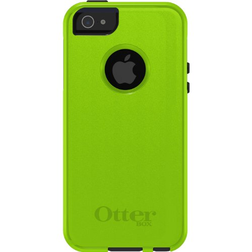 OtterBox [Commuter Series] Apple iPhone 5 & iPhone 5S Case - Retail Packaging Protective Case for iPhone - Blue/Lime Green