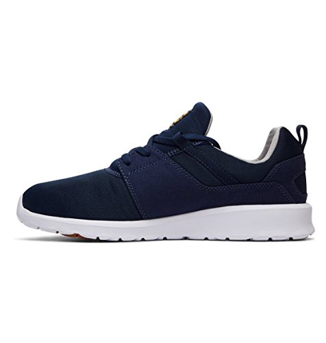 Shoes Sneakers DC Gold M Heathrow Uomo Bleu Navy tF8dq