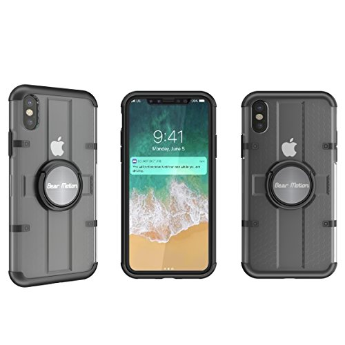 Bear Motion for iPhone X/XS - Premium TPU/PC Case for iPhone X/XS