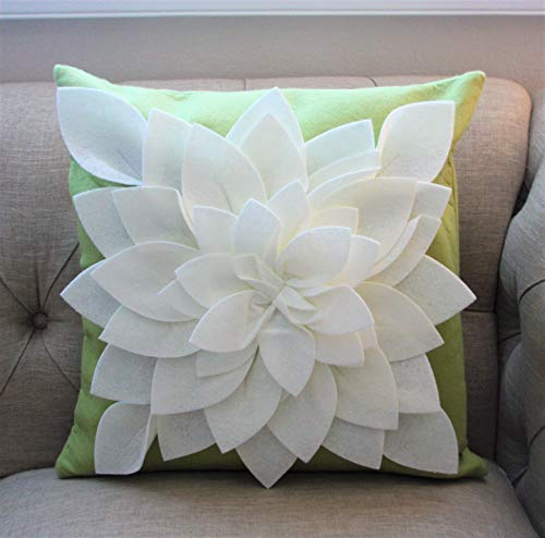 Flower Pillow - Decorative Throw Pillow - 17