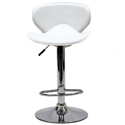 Modern Contemporary Bar Stool White by America Luxury - Stools