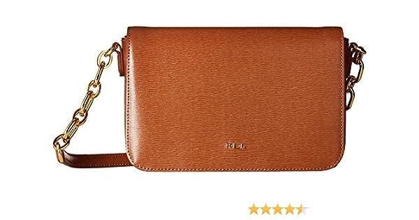 d37714bcd790 RALPH LAUREN Women s Newbury Carmen Crossbody Lauren Tan One Size  Handbags   Amazon.com