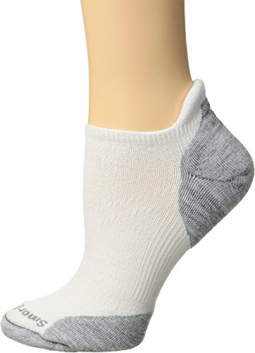 Smartwool Women's PhD¿ Run Light Elite Micro White/Light Gray Small