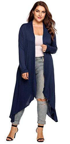 Jersey Plus Size Coat - 9