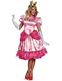 Princess Peach Deluxe Costume Adults