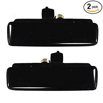 New Pair Set Outside Front Door Handle Assembly 92-05 Chevy Astro GMC Safari Van