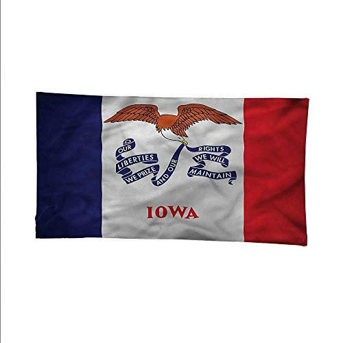 Americanocean tapestrylarge tapestryState Iowa Liberty Eagle 60W x 51L Inch