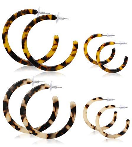 LOYALLOOK Acrylic Earrings Resin Earrings For Women Boho Earrings Fashion Earrings Statement Earrings Drop Earrings Dangle Earrings style 1