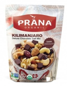 Prana Organic Kilimanjaro Deluxe Chocolate Trail Mix 1.5 (Dark Chocolate Trail Mix)