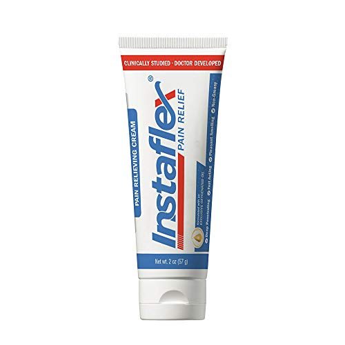 Instaflex Pain Relief Cream Delivers Clinically Studied Pain Relief from Arthritis, Back Pain, Strains and Joint and Muscle Pain (2 ()