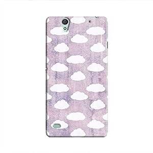 Cover It Up - Cloud Purple Sky Xperia C4 Hard Case