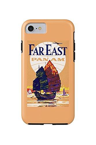 usa-pan-am-far-east-vintage-advertisement-iphone-7-cell-phone-case-tough