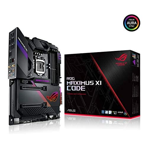 chollos oferta descuentos barato ASUS ROG Maximus XI Code Z390 LGA1151 Intel 8th and 9th Gen ATX DDR4 HDMI M 2 USB 3 1 Gen2 Gaming Motherboard