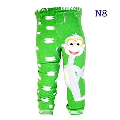 Dizoony Infantile Leggings Neonato Leggins Bambini Pantofoline Ragazzo Collant 0-24 Mesi