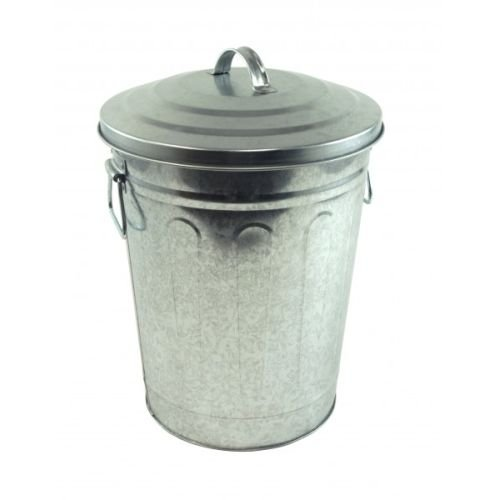 Steven Raichlen Defeat of Barbecue Galvanized Charcoal and Ash Can with Lid -- SR8012