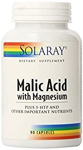 Solaray Malic Acid with Magnesium Supplement, 90 Count by Solaray