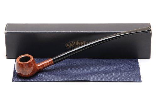 Savinelli Churchwarden Smooth 313 Tobacco Pipe by Savinelli