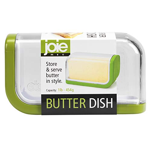 MSC International 40444 Joie Butter Dish, Green White (Original (Best Msc Butter Dishes)