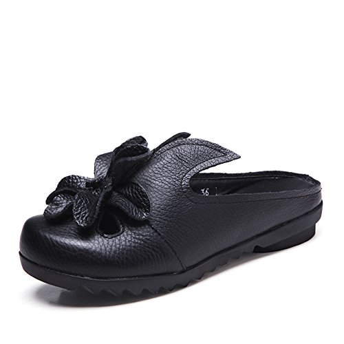 Usanze Superiore Pistoni Pantofole Cool A Etniche Fiore Fondo della Ladies Piatto Spiaggia Summer weiwei ZwR6q81R0
