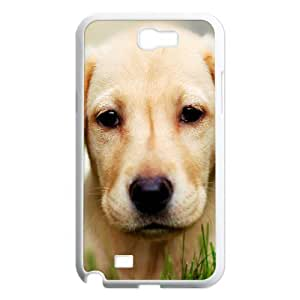 QSWHXN Diy Phone Case Cute Dog Pattern Hard Case For Samsung Galaxy Note 2 N7100