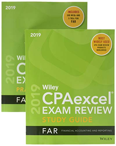 Wiley CPAexcel Exam Review 2019 Study Guide + Question Pack: Financial Accounting and Reporting (Number Of Questions In Cfa Level 1)