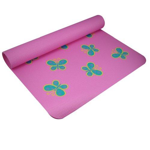 Baby Yoga Mat (YogaDirect Fun Yoga Mat For Kids - Butterfly)