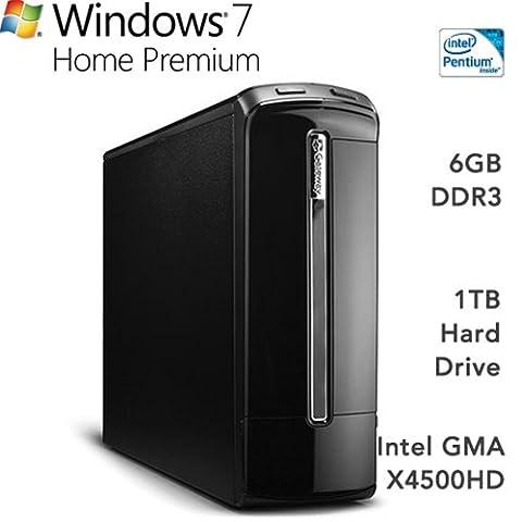 Gateway SX2801-01E Desktop - X4500hd Graphics