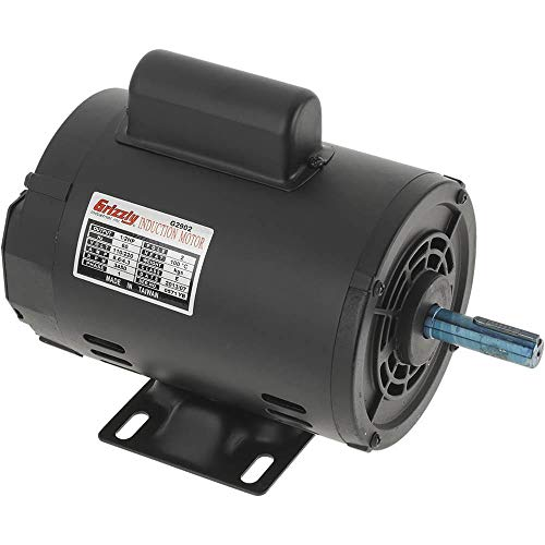 Grizzly Industrial G2902 - Motor 1/2 HP Single-Phase 3450 RPM Open 110V/220V