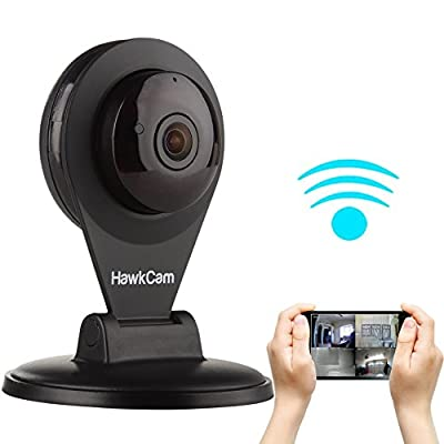 Best Seller HawkCam Pro Home Security Camera Wireless, Nanny Cam - Audio, FalconWatch HD WiFi Motion Activated,! Burglar Deterrent Cam USB, DIY Indoor Cameras Watch LIVE Most Device