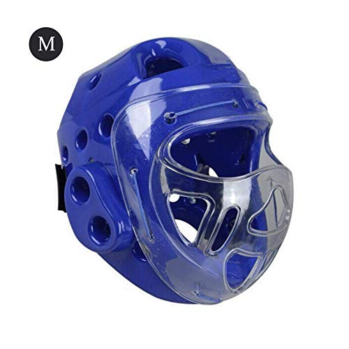 TKTTBD Sparring Headgear, Boxing Headgear, Light Weight Full Face Protection MMA Headgear Martial Arts Karate Head Guard with and Durable - Guard Headgear Ear Foam