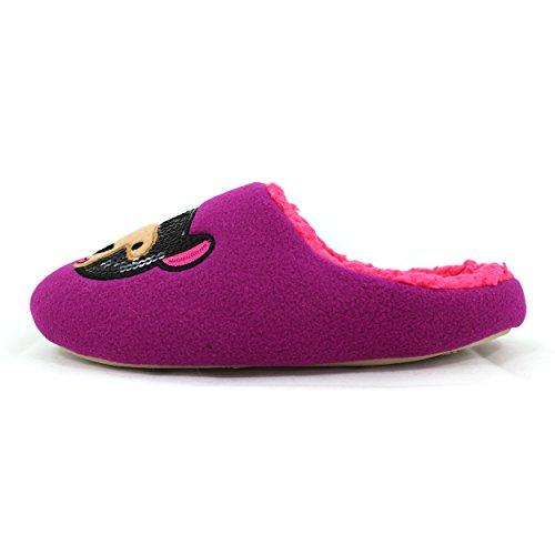 Slippers Bear Purple Kensie Womens Scuff zTq8n