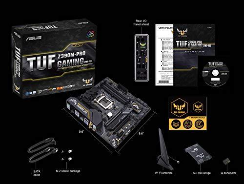 Build My PC, PC Builder, ASUS TUF Z390M-Pro Gaming (Wi-Fi)