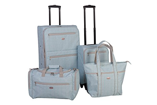 american-flyer-meander-4-piece-luggage-set-teal