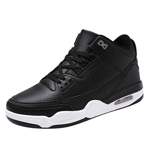 - Mens Athletic Shoes Breathable Slip-On Tennis Sport Basketball Shoes Casual Comfortable Sports Running Shoe Black