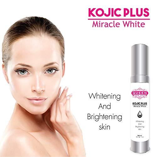 Kojic Acid Plus Skin Whitening & Underarm Cream-3% Kojic Acid, Glutathione, Niacinaminde(B3)-Maximum Strength Brightening-Dark Spots, Hyperpigmentation, Melasma and Sun Damage