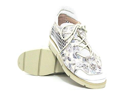 Softwaves weiß Weiß 45 Beige 7 03 Mujeres Con Cordones kombi Zapatos kombi 4wqArx4