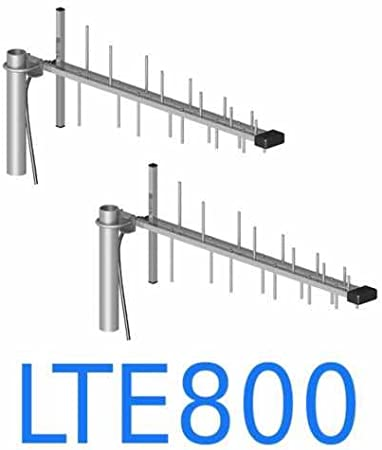 Antena LTE radioenlace 2 x 12 db 10 m cable Huawei B1000 ...