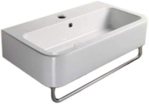 Gsi 694911 Tb One Hole 637509867843 Traccia Collection Bathroom Sink White Amazon Com