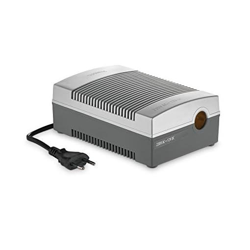 dometic coolpower eps 817, ac/dc-netz-adapter, wechselrichter, spannungwandler mit zigarettenanzünder für anschluss von 12 v, kühlgeräten an 230 v stromnetz, für auto, wohnmobil und camping